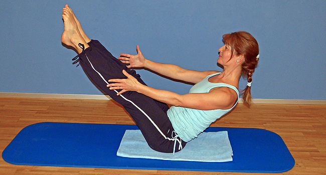 Pilates Training in Aeugst am Albis, Bild3